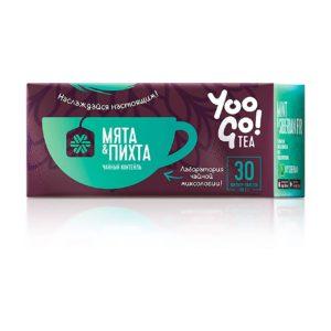 Коробка Чайный коктейль (мята и пихта) YooGo
